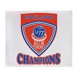 Netball England Champions Throw Blanket