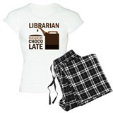 Librarian Fueled By Chocolate pajamas