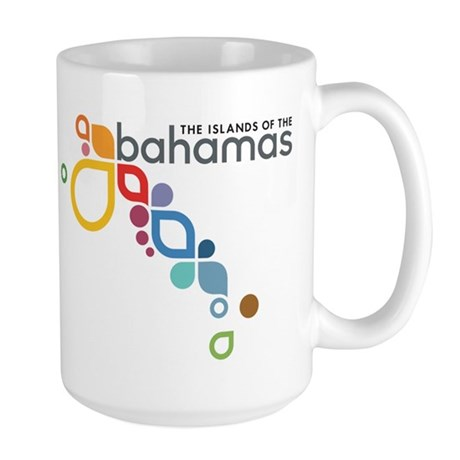 The Island of The Bahamas Large Mug
