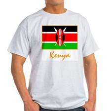 Kenya Ash Grey T-Shirt