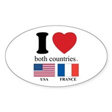 USA-FRANCE Decal