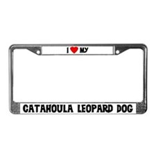 Catahoula Leopard Dog License Plate Frame