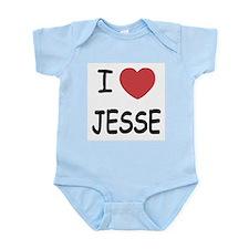 I heart jesse Infant Bodysuit