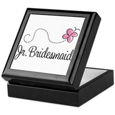 Junior Bridesmaid Wedding Keepsake Box