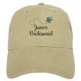 Blue Wedding Junior Bridesmaid Cap