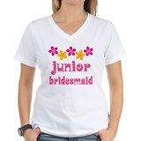 Junior Bridesmaid Tropical Hawaiian Shirt