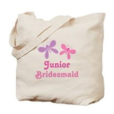 Butterflies Junior Bridesmaid Tote Bag