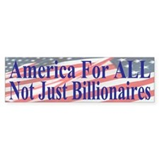 America For ALL Car Sticker