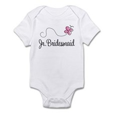 Junior Bridesmaid Wedding Infant Bodysuit