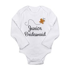 Pretty Wedding Junior Bridesmaid Long Sleeve Infan