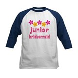 Junior Bridesmaid Tropical Hawaiian Tee