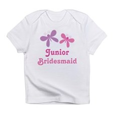 Butterflies Junior Bridesmaid Infant T-Shirt