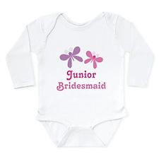 Butterflies Junior Bridesmaid Long Sleeve Infant B