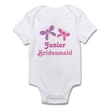 Butterflies Junior Bridesmaid Infant Bodysuit
