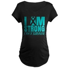 I am Strong Cervical Cancer T-Shirt