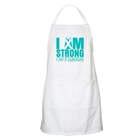 I am Strong Cervical Cancer Apron