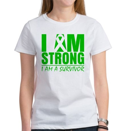 I am Strong Bile Duct Cancer Women's T-Shirt