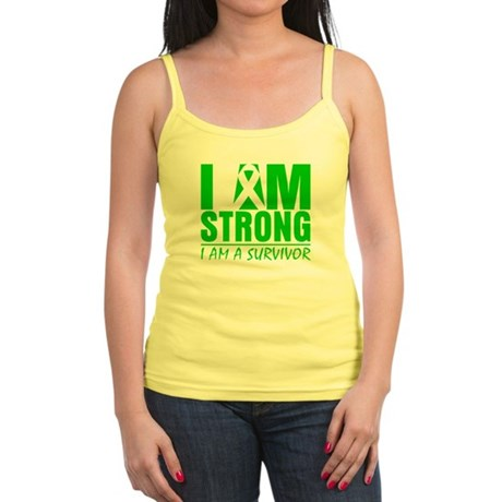 I am Strong Bile Duct Cancer Jr. Spaghetti Tank