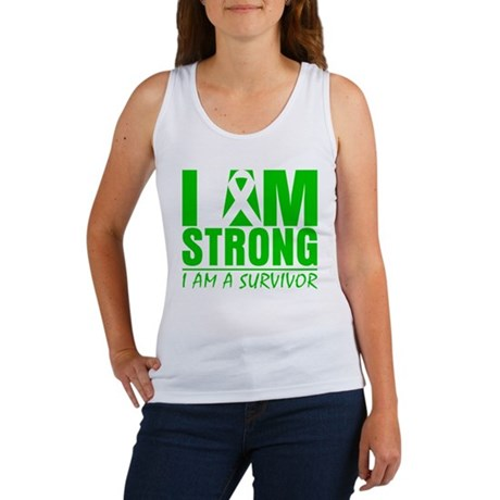 I am Strong Bile Duct Cancer Women's Tank Top