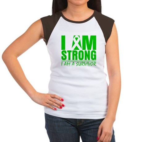 I am Strong Bile Duct Cancer Women's Cap Sleeve T-