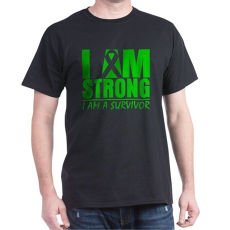 I am Strong Bile Duct Cancer Dark T-Shirt