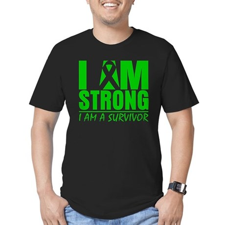I am Strong Bile Duct Cancer Men's Fitted T-Shirt
