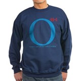 O44+4 Re-Elect Obama Sweatshirt (black/navy)