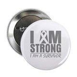 "I am Strong Diabetes Survivor 2.25"" Button"
