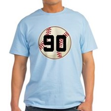Baseball Player Number 90 Team T-Shirt
