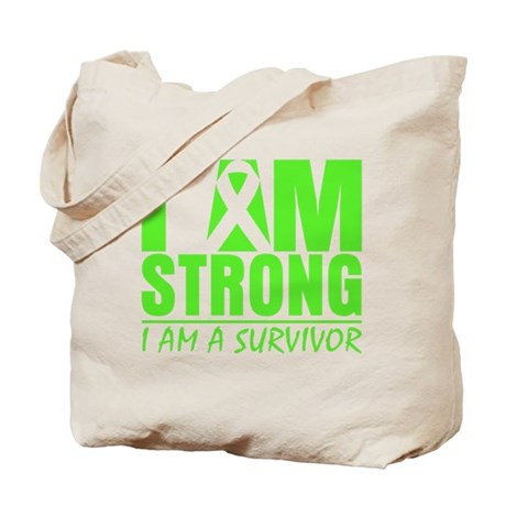 Strong Non-Hodgkins Lymphoma Tote Bag