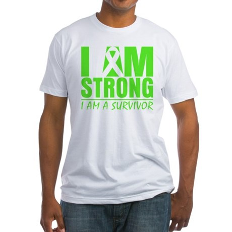 Strong Non-Hodgkins Lymphoma Fitted T-Shirt