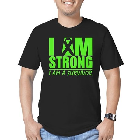 Strong Non-Hodgkins Lymphoma Men's Fitted T-Shirt