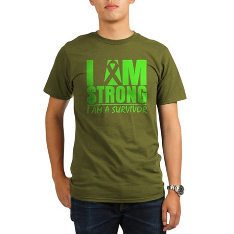 Strong Non-Hodgkins Lymphoma Organic Men's T-Shirt