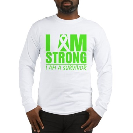 Strong Non-Hodgkins Lymphoma Long Sleeve T-Shirt