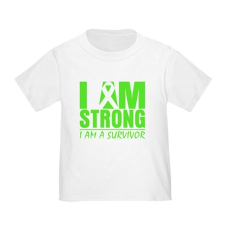 Strong Non-Hodgkins Lymphoma Toddler T-Shirt