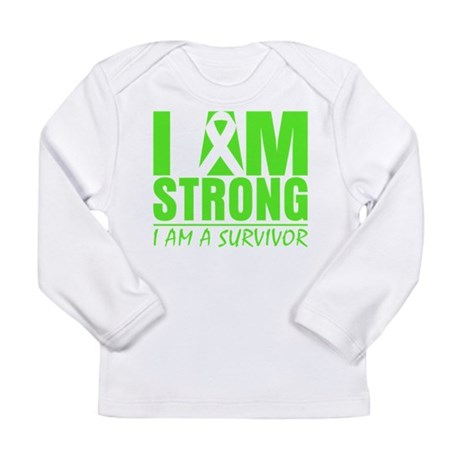 Strong Non-Hodgkins Lymphoma Long Sleeve Infant T-
