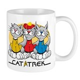 Cat Trek Small Mug