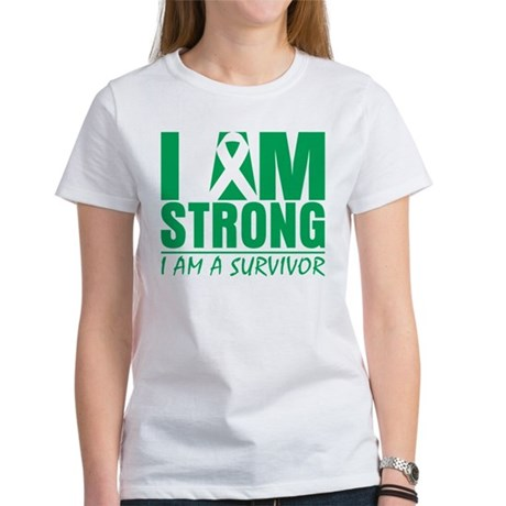 I am Strong Liver Cancer Women's T-Shirt