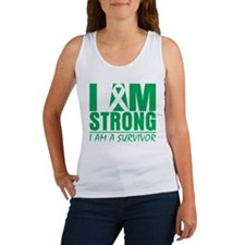 I am Strong Liver Cancer Women's Tank Top