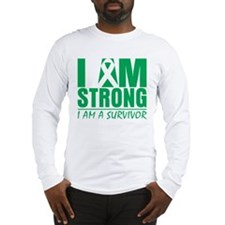I am Strong Liver Cancer Long Sleeve T-Shirt
