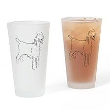 Spinone Italiano Sketch Drinking Glass