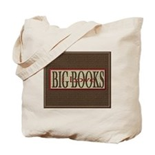 I Love Big Books Tote Bag