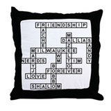 HALLFELD SCRABBLE-STYLE Throw Pillow