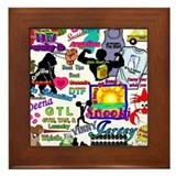 Best Seller Jersey Shore Gear Framed Tile