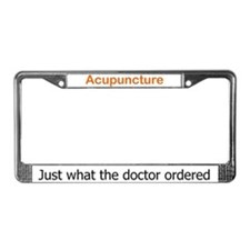 Cute Doctors orders License Plate Frame