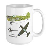 "P-40 ""God is My Co-Pilot"" Mug"