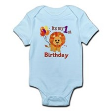 1st Birthday Lion Onesie