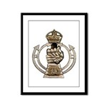 Royal Armoured Corps Framed Panel Print
