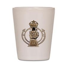 Royal Armoured Corps Shot Glass