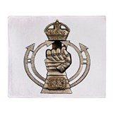 Royal Armoured Corps Throw Blanket